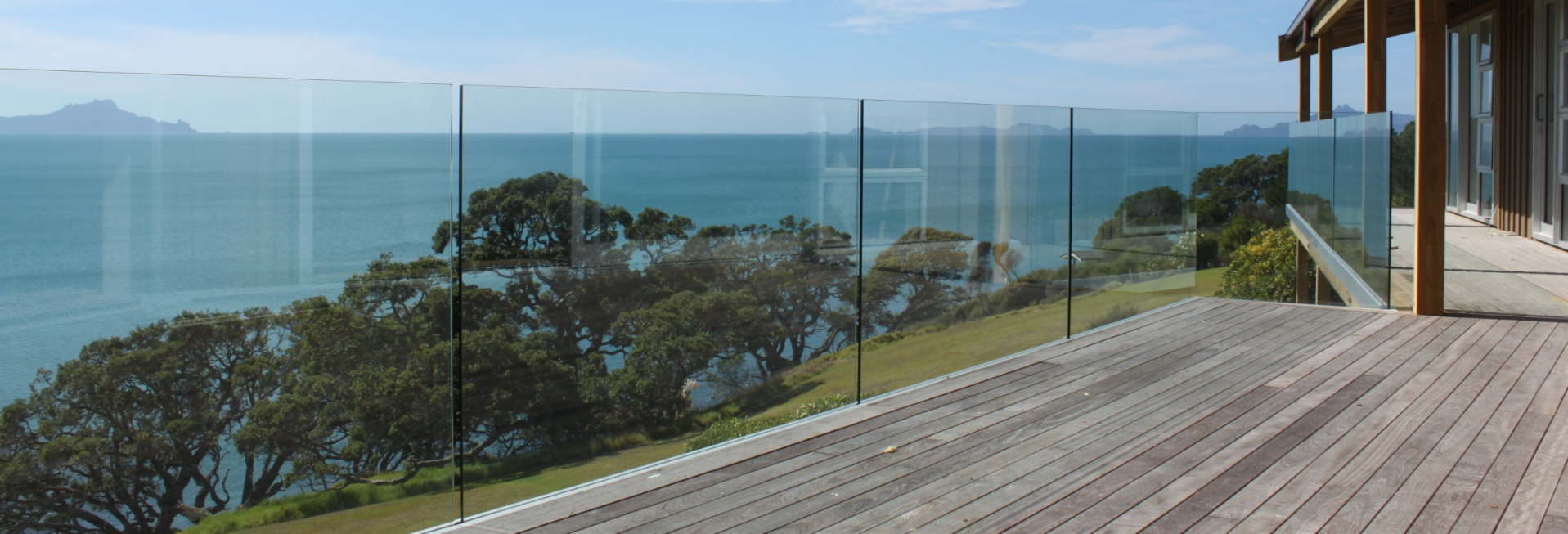 Stunning Glass Balustrading